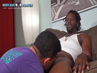 No Complications Blow  - Gay Black Porn