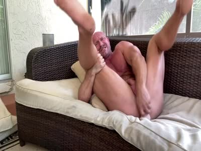 Killian Knox Dildo Fun - Older Gay Men