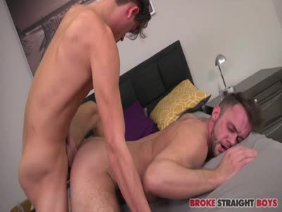 Ethan Finishes By Tast - Gay For Pay Straight Males