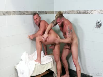 Sauna Beef - Older Gay Men