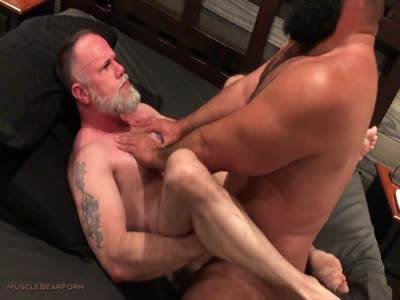 Barefoot And Bred - Gay Bear Sex