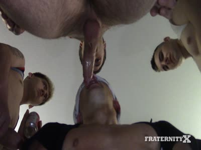 Rolling Holes - Gay Frat boy