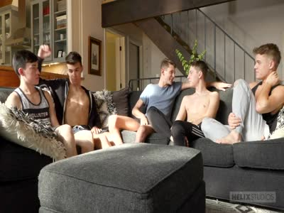 The Lake House Episode - Gay Orgy