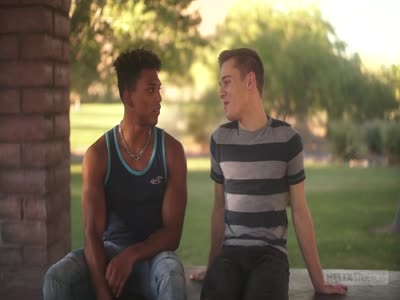 Introducing Damien Ell - Interracial Gay Sex