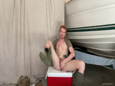 Dacotah Red - Gay Military Sex