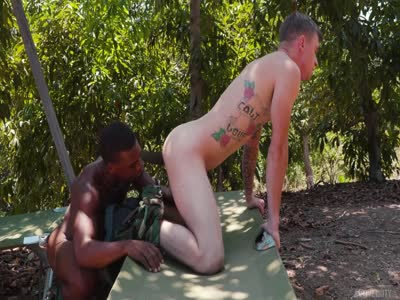 Adrian Hart And Ryan J - Gay Military Sex