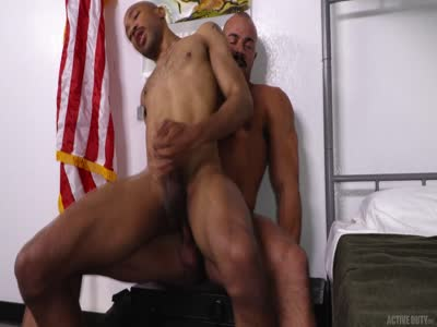Alex Breaks In New Rec - Gay Military Sex