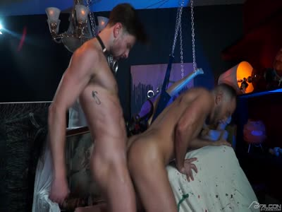 Scared Stiff 2 - Bareback Gay Sex