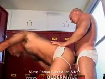 Steve Fucks Allen - Older Gay Men