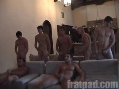Fratpad Pad Jerk - Gay Frat boy
