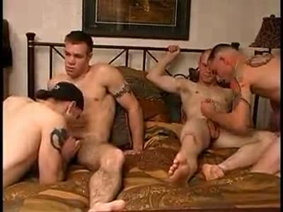 Platoon Party - Gay Military Sex