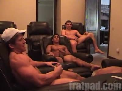 Fratpad Quad Race - Gay Frat boy