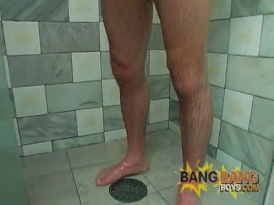 Bira In The Shower - Latino Gay Sex