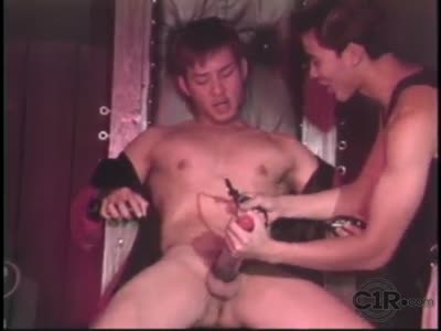 Cock Pumping - Asian Gay Sex