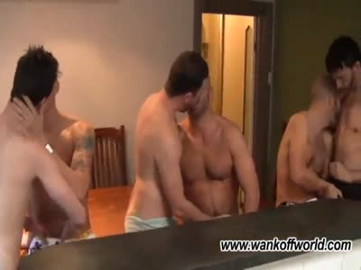 6-way At Home Sex - Gay Orgy