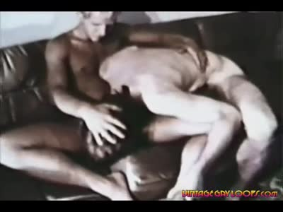 Old School Couch F - Older Gay Men