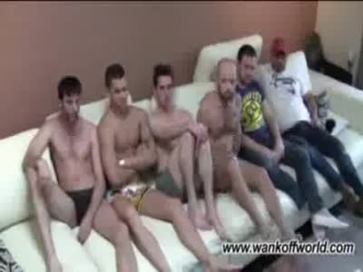 6-way Strip Introducti - Gay Orgy