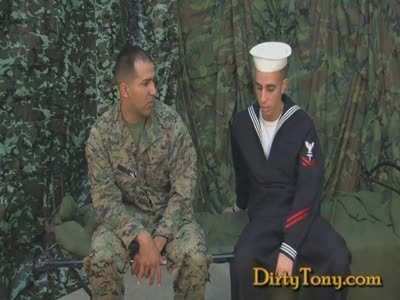 Navy Blows Uncut Marin - Gay Military Sex