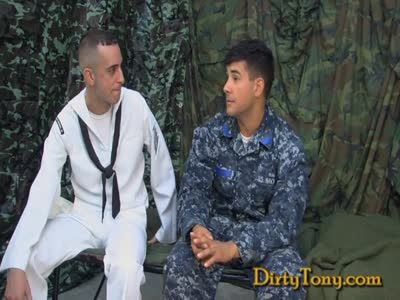 Navy Latino 1st Gay Bj - Gay Military Sex