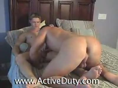 Kaden Fucks Kasey - Gay Military Sex