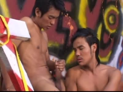 Cute Asian Skater  - Asian Gay Sex
