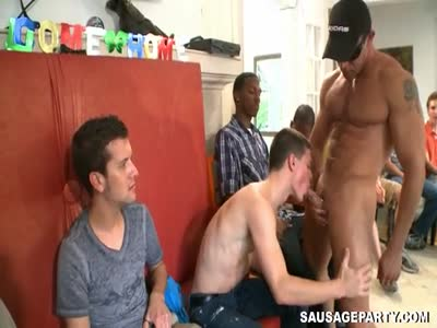 Orgy Time - Part 1 - Gay Orgy