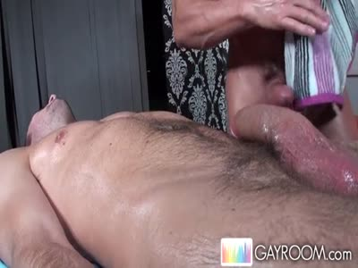 Hard Cock Massage - Gay Hunk