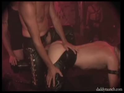 Dungeon Daddies Fu - Gay Orgy