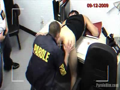 The Cavity Search - Gay Uniform Fetish