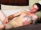 Gay Porn from CollegeDudes - Chris-Hewitt-Busts-A-Nut