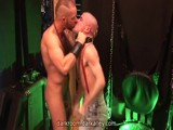 Gay Porn from Darkroom - Skinhead-Gets-Punished