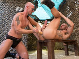 Gay Porn from ClubInfernoDungeon - Fire-In-The-Foxhole-Scene-4