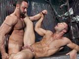 Gay Porn from RagingStallion - Fabio-Stallone-And-Jr-Bronson