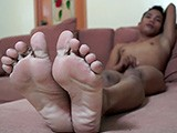 Gay Porn from LaughingAsians - Javey-Jerks-Off