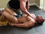 Hog-Tie-Brock-Vension - Gay Porn - buffandbound