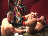 Gay Porn from Darkroom - Four-Filthy-Leather-Guys
