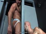 Gay Porn from RawAndRough - Glory-Hole-Sweat-Lodge-Fuck