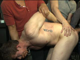Gay Porn from BoundInPublic - Hayden-John-Clayton-Sebastian-And-More