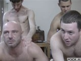 Gay Porn from WankOffWorld - 6-Way-Sex