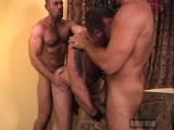 From BearBoxxx - Threeway-Muscle-Bear-Fuck