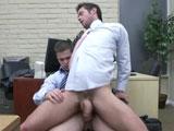 Gay Porn from MenDotCom - The-Office-Slut-2