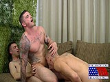 Gay Porn from AllAmericanHeroes - Slates-Triple-Trouble