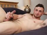 Straight-Sam-Strokes-His-Meat - Gay Porn - BlakeMason
