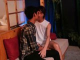 Gay Porn from AsiaBoy - Swallows-His-Buddy-Cock