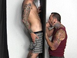 Lance-At-The-Gloryhole - Gay Porn - StraightFraternity