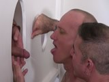 Gay Porn from RawAndRough - Gloryhole-Cum-And-Piss-Pigs