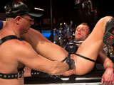 Gay Porn from ClubInfernoDungeon - Last-Call-For-Handball-Scene-3