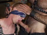 Gay Porn from LavenderLounge - Hairy-Daddy-And-Tall-Blond
