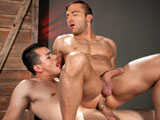 Gay Porn from RagingStallion - Jr-Bronson-And-Enrique-Romo