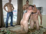 Marine-Buddies-Wrestle-Naked from mystraightbuddy